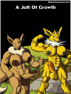 A Jolt Of Growth 1 and Pokemon Comic Porn