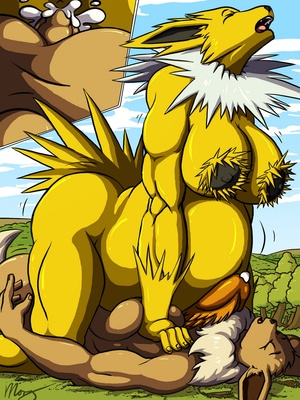A Jolt Of Growth 5 and Pokemon Comic Porn