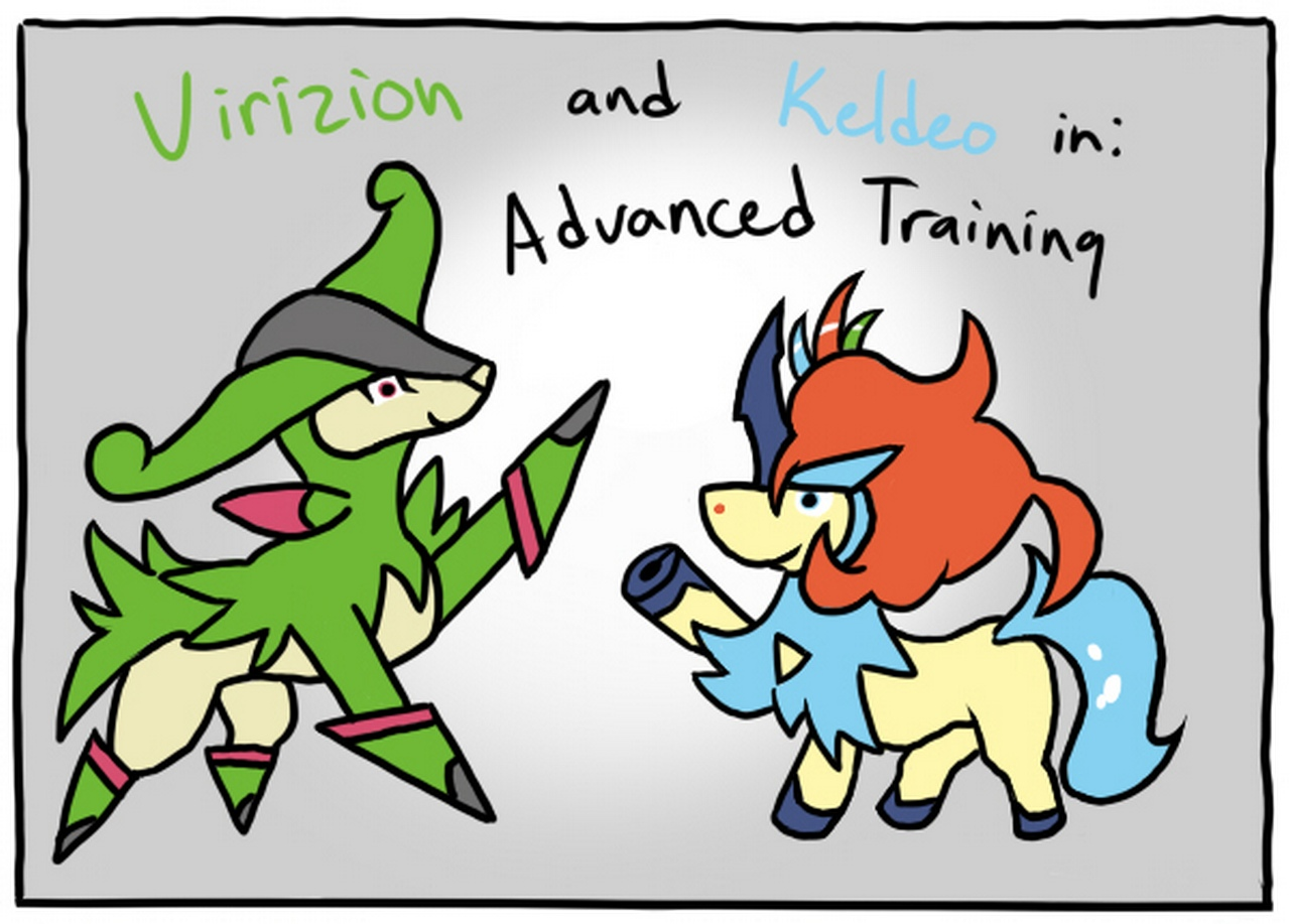 Advanced Training 1 Pokemon Comic Porn