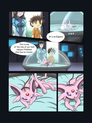 8 and Pokemon Comic Porn
