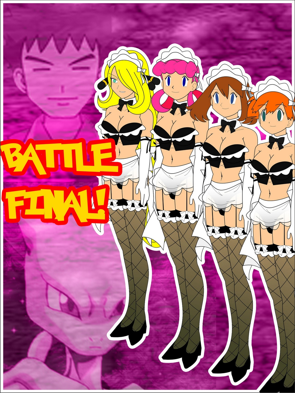 Battle Final! Pokemon Comic Porn