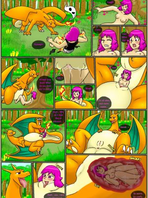 Charizard's Challenge Pokemon Comic Porn