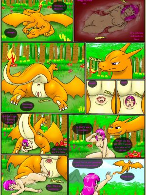 Charizard's Challenge 5 and Pokemon Comic Porn