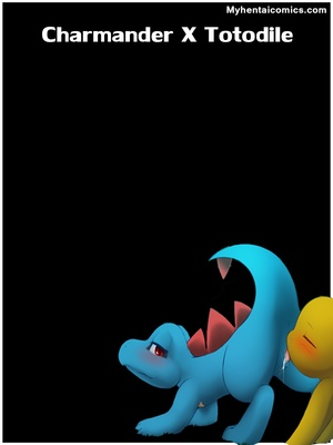 Charmander X Totodile 1 and Pokemon Comic Porn