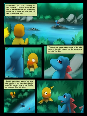 Charmander X Totodile 2 and Pokemon Comic Porn