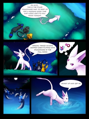 Dragonair's Reunion 2 and Pokemon Comic Porn