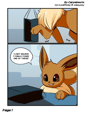 Eevee's Tentacle Box 1 and Pokemon Comic Porn