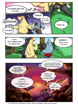 First Night 3 and Pokemon Comic Porn