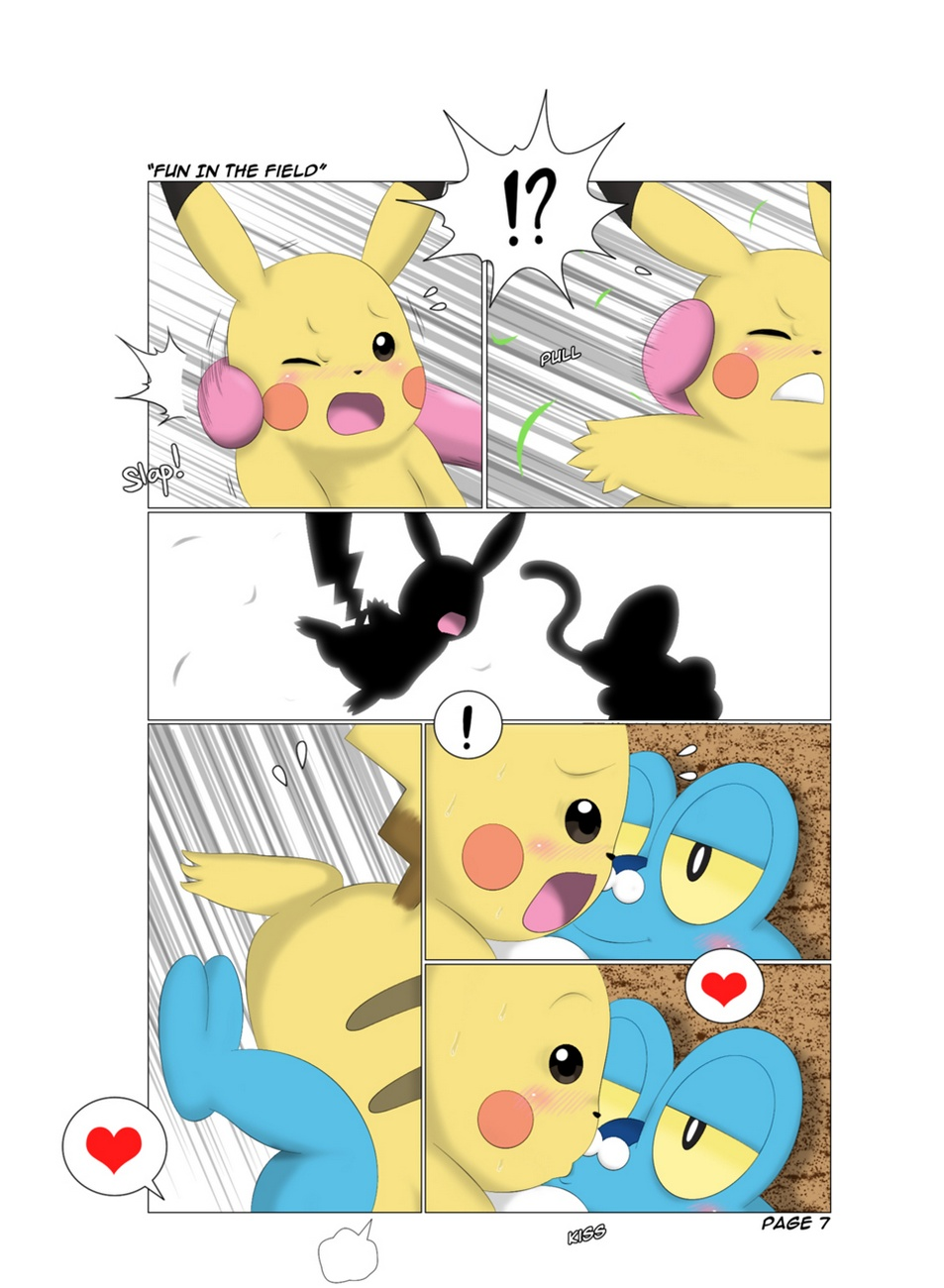 Fun In The Field Pokemon Comic Porn