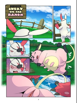 (Getting) Lucky On The Ranch Pokemon Comic Porn