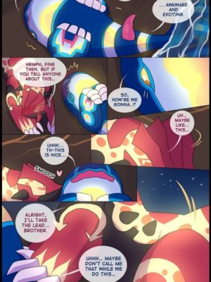 Groudon x Kyogre Pokemon Comic Porn