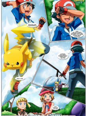 Kalos Threesome 2 and Pokemon Comic Porn