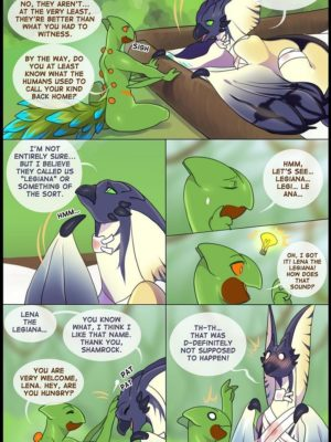 Lena And Shamrock's Love Night 8 and Pokemon Comic Porn