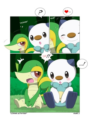 Loving Activities Pokemon Comic Porn