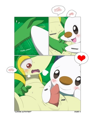 Loving Activities 5 and Pokemon Comic Porn