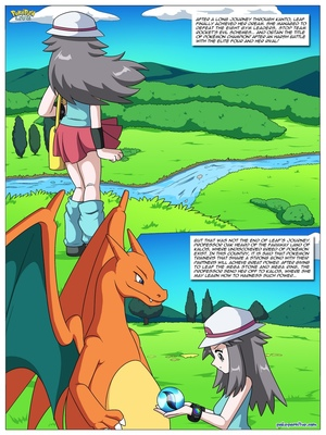 Mega Evolution - Leaf's Journey To Kalos 2 and Pokemon Comic Porn