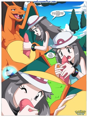Mega Evolution - Leaf's Journey To Kalos 5 and Pokemon Comic Porn