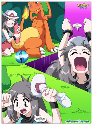 Mega Evolution - Leaf's Journey To Kalos 7 and Pokemon Comic Porn