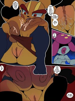 Moaning Rock 6 and Pokemon Comic Porn