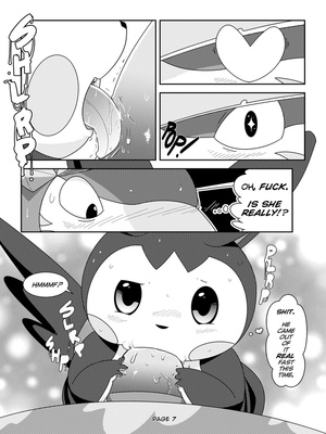 More Than I Bargained For 8 and Pokemon Comic Porn