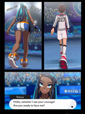 Nessa Battle Gym 3 and Pokemon Comic Porn