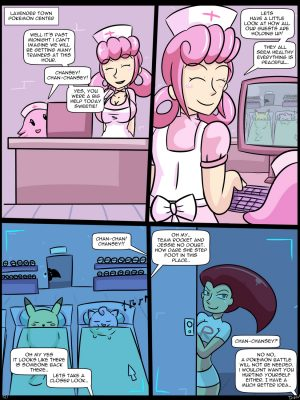 Nurse Joy's Special Treatment 1 Pokemon Comic Porn