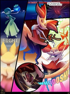 Obscene Braixen 2 and Pokemon Comic Porn