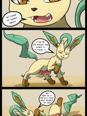 Oversexed Eeveelutions Extra 11 and Pokemon Comic Porn