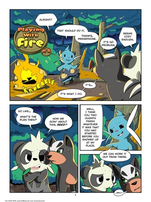 Playing With Fire Part 2 5 and Pokemon Comic Porn