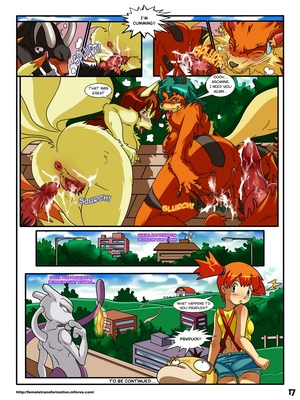 Pokemaidens 2 18 and Pokemon Comic Porn