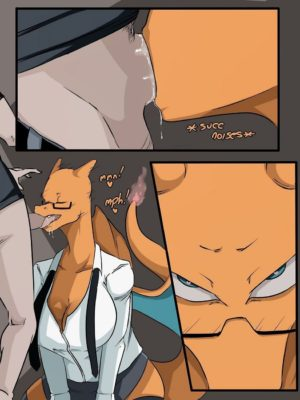 Pokesluts – Charizard Pokemon Comic Porn