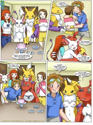 Rika And Renamon's Blues 3 and Pokemon Comic Porn