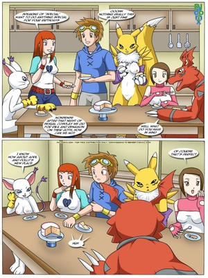 Rika And Renamon's Blues 4 and Pokemon Comic Porn