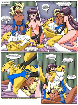 Rika And Renamon's Blues 57 and Pokemon Comic Porn