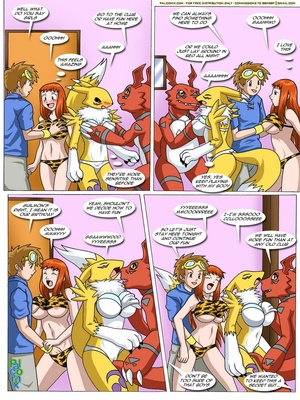 Rika And Renamon's Blues 71 and Pokemon Comic Porn
