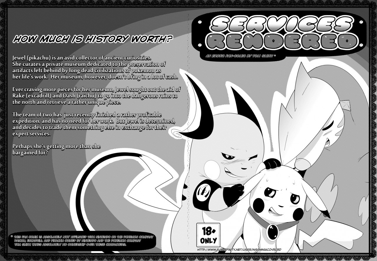 Services Rendered Pokemon Comic Porn