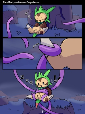 Sticky Situation Pokemon Comic Porn