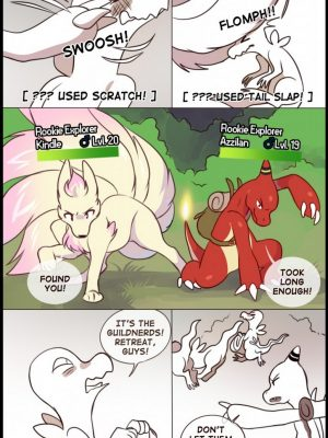 Tales From Silverstar Town 1 - Lost 7 and Pokemon Comic Porn