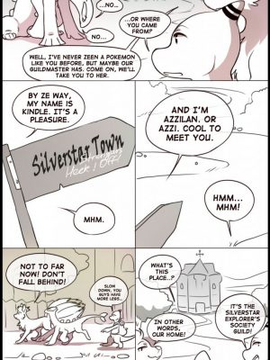 Tales From Silverstar Town 1 - Lost 9 and Pokemon Comic Porn