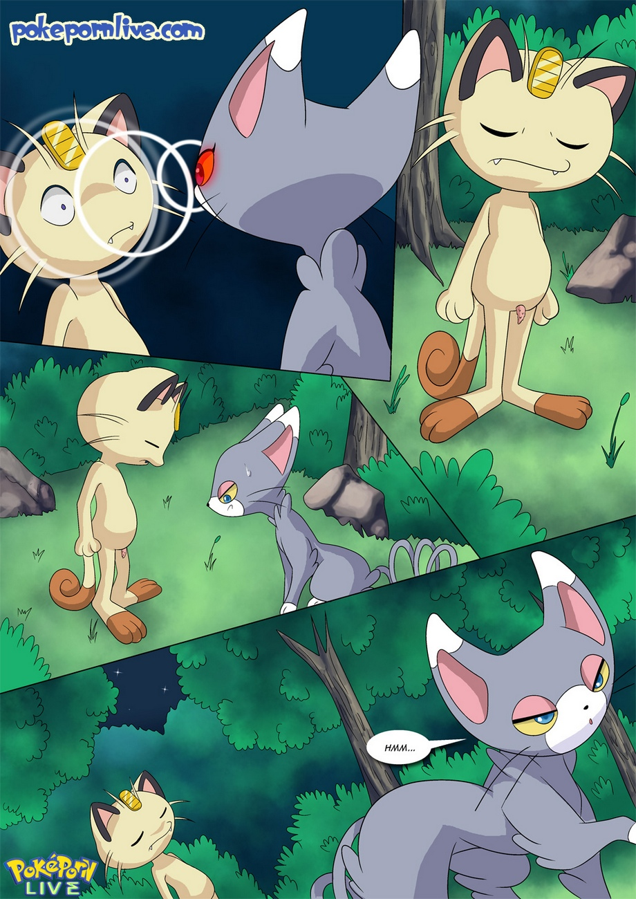 The Cat's Meowth Pokemon Comic Porn