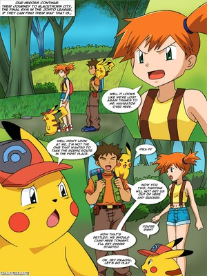 The New Adventures Of Ashchu 1 2 and Pokemon Comic Porn