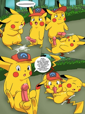 The New Adventures Of Ashchu 1 5 and Pokemon Comic Porn
