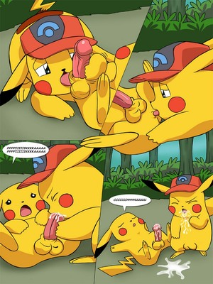 The New Adventures Of Ashchu 1 6 and Pokemon Comic Porn