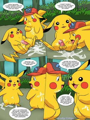 The New Adventures Of Ashchu 1 7 and Pokemon Comic Porn