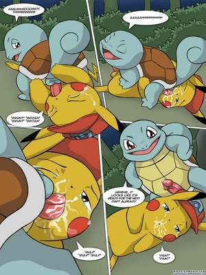 The New Adventures Of Ashchu 1 34 and Pokemon Comic Porn