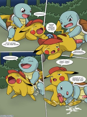 The New Adventures Of Ashchu 1 36 and Pokemon Comic Porn
