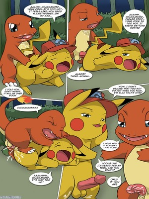 The New Adventures Of Ashchu 1 43 and Pokemon Comic Porn