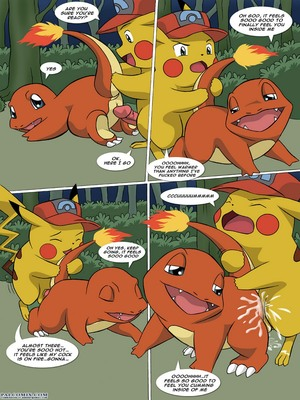 The New Adventures Of Ashchu 1 44 and Pokemon Comic Porn