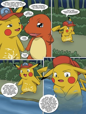 The New Adventures Of Ashchu 1 45 and Pokemon Comic Porn