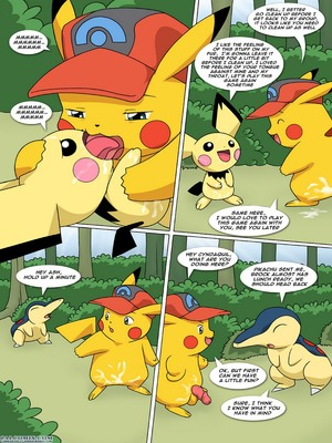 The New Adventures Of Ashchu 1 69 and Pokemon Comic Porn